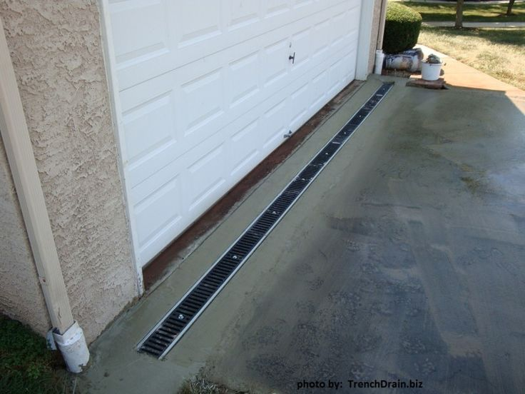 17 best ideas about trench drain on pinterest french for Residential trench drain systems