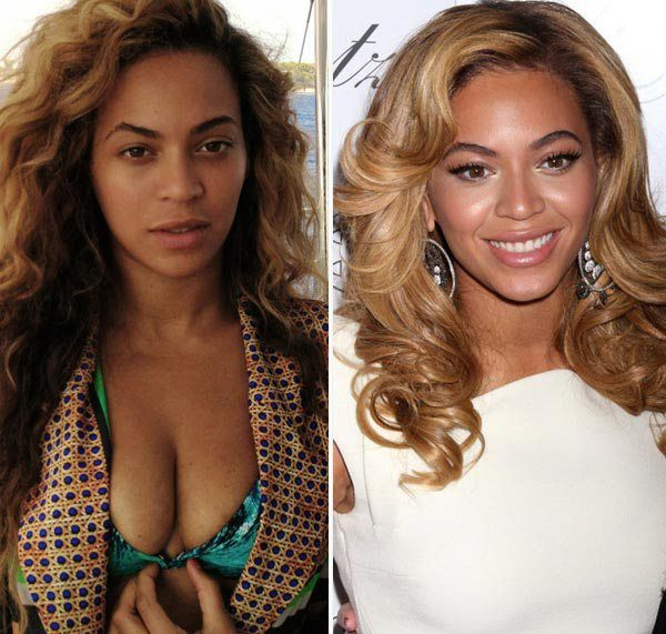 6 Celebrities Who Look Great with No Makeup - Beyonce | PressRoomVIP
