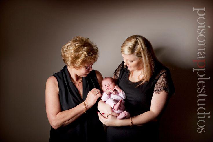 Three generations of beautiful girls! Such a special shoot xx #newborn #portraits #brisbane