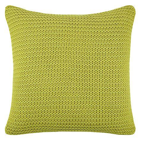 buy john lewis chunky knit cushion online at. Black Bedroom Furniture Sets. Home Design Ideas