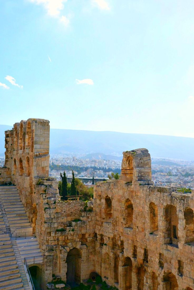 Odeon of Herodes Atticus. Read more about what it is like to see an opera at this ancient theater in the heart of Athens, Greece!