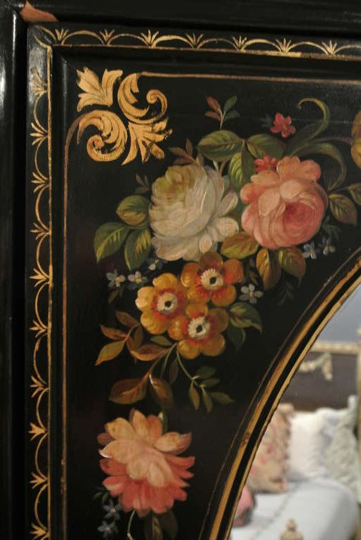 Victorian Painted Armoire SATURDAY