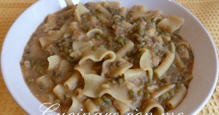 Cucinare con me: Fagioli Azuki Verdi con pasta mista