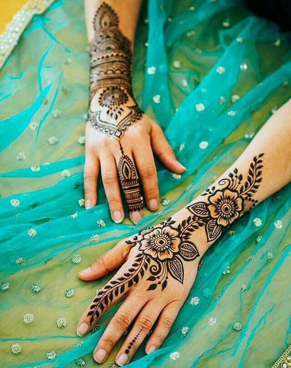 Beautiful Hard Henna Designs for Hands to Apply on 2019