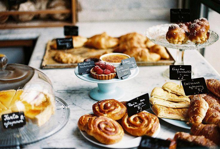 In bistro Charlotte  #croissant @breakfast