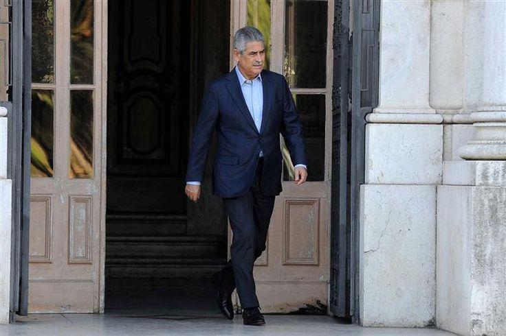 Luís Filipe Vieira, presidente do Benfica, liderou a delegação que se reuniu esta segunda-feira com o Conselho de Arbitragem