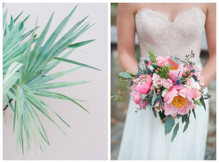 Love Be Photography   2016 Best of Details, costal flowers, island wedding inspiration, bright bouquet, elopement wedding, bhldn
