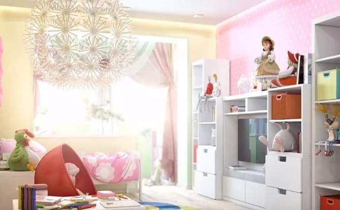 детская спальня для девочек дизайн фото
