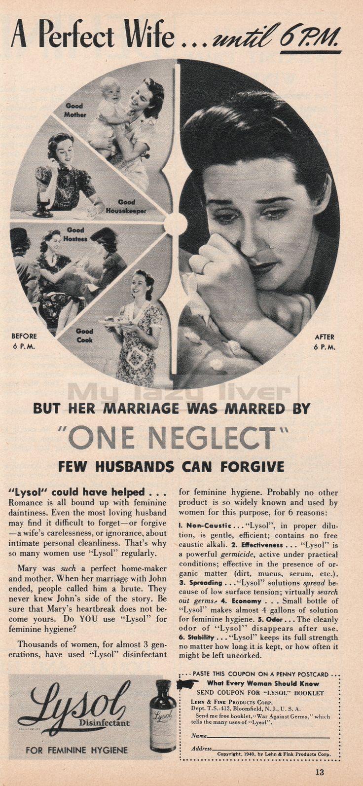 retro ads vintage advertisements vintage ads the husband old ads ...