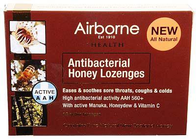 Antibacterial Honey Lozenges 16 Throat Lozenges | Shop New Zealand NZ$15.90