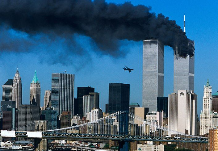 """Kent Kobersteen, former Director of Photography of National Geographic """"The pictures are by Robert Clark, and were shot from the window of his studio in Brooklyn. I will never forget. We as a nation will never forget."""