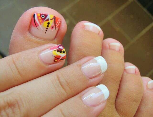Dise o y decoraci n de u as unhas nails para pies tus 2014 - Modelos de unas pintadas ...