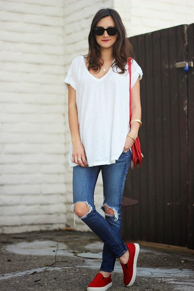 wonderful good outfits with red vans 8