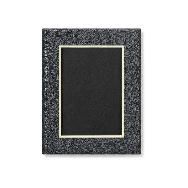 Williams-Sonoma Faux Shagreen Picture Frame ($75) ❤ liked on Polyvore featuring home, home decor, frames, ivory picture frames, cream picture frames and antique white picture frames
