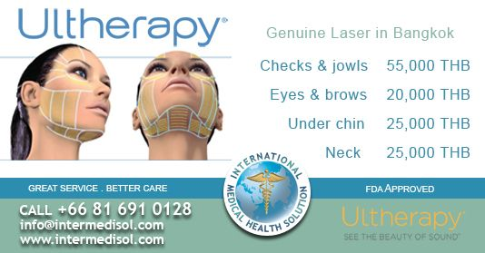 Promotion for Ulthera Genuine Laser Face Lifting in Bangkok Thailand