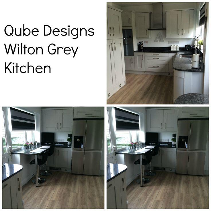 Wilton Grey Kitchen doors. BA Components