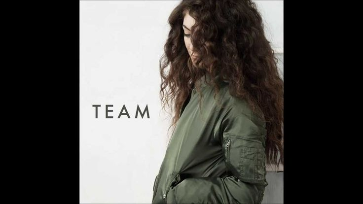 The song that inspired it all. I can totally see this scene starting off the book. Love, love, love it!  LORDE - Team (Audio)