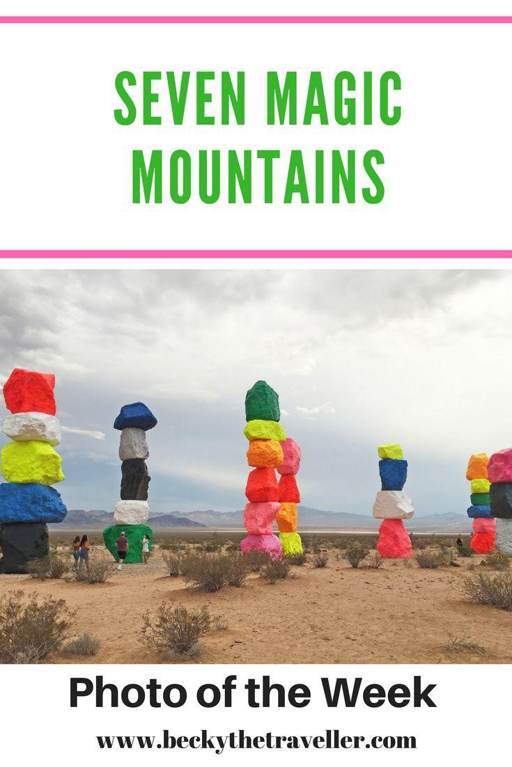 Seven Magic Mountains, Las Vegas. Art   Desert   Las Vegas   Travel PhotosSeven Magic Mountains is a piece of art in Las Vegas desert. Ugo Rondinone is the artist behind the 'Seven Magic Mountains'.