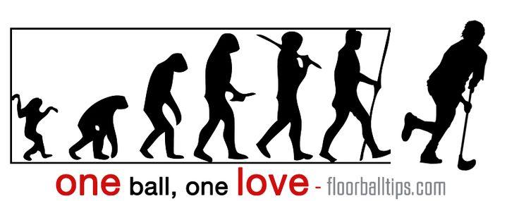 Floorball one ball, one love. Visit us at : floorballtips.com
