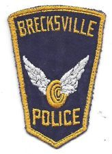BRECKSVILLE OHIO POLICE PATCH
