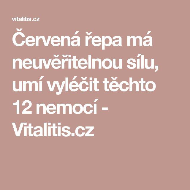 Červená řepa má neuvěřitelnou sílu, umí vyléčit těchto 12 nemocí - Vitalitis.cz