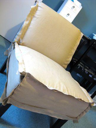 Sohl Design: Slipper Chair Slip Covers
