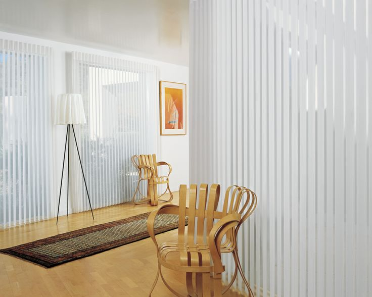 Luxaflex Luminette Privacy Sheers.