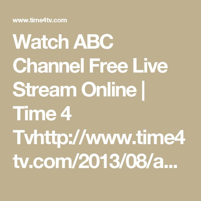 how to watch abc live stream online from canada