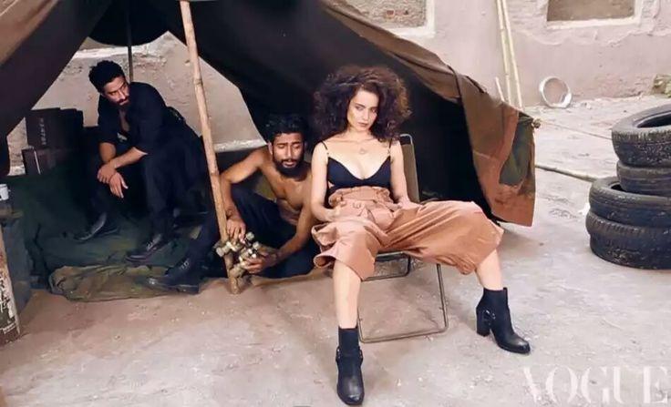 #kanganaranaut  #vougue  #photoshoot #bollywood #BollywoodGaliyara #bollywoodactress