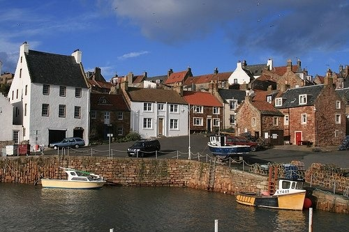 The East Neuk of Fife is one of Scotland's loveliest spots.  Stay in Crail at self-catering Sandcastle Cottage: http://www.2crail.com