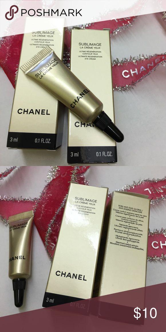 CHANEL sublimage la cremè yeux eye cream CHANEL sublimage la cremè yeux eye cream 0.1fl oz CHANEL Makeup