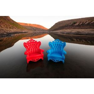 OMG I WANT THESE THEY COME IN EVERY COLOR !  Polart, 4646-P, , Polart Outdoor Plastic King Chair 4646 P