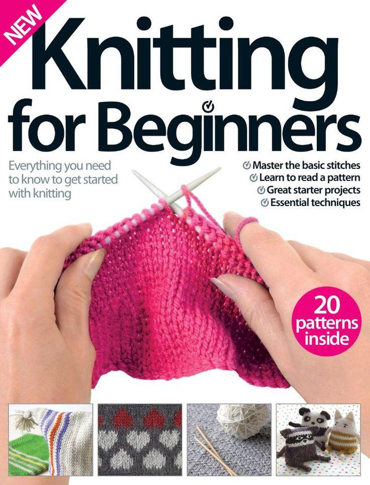 Knitting Book For Beginners : Best handwork knitting books magazines images