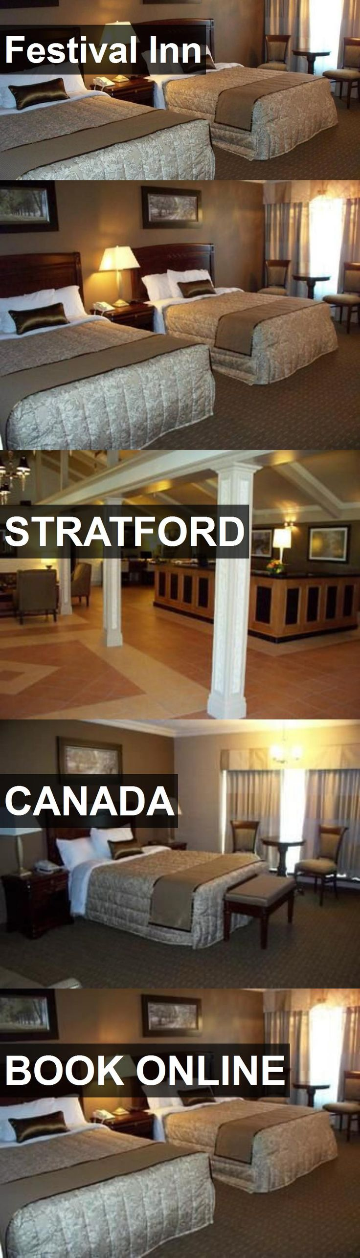 Hotel Festival Inn in Stratford, Canada. For more information, photos, reviews and best prices please follow the link. #Canada #Stratford #travel #vacation #hotel