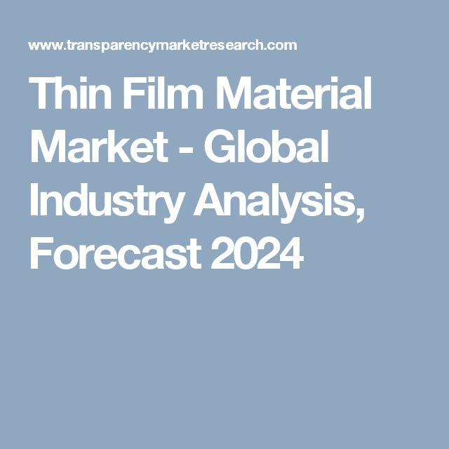 Increase in technological miniaturization is expected to be the prime driver of the thin materials market during the forecast period. Rising awareness regarding the usage of solar energy is also anticipated to boost the thin film material market during the forecast period. Industrial applications of thin film materials such as optical coatings and semiconductors coupled with domestic applications are estimated to drive the demand for thin film materials over the next few years.