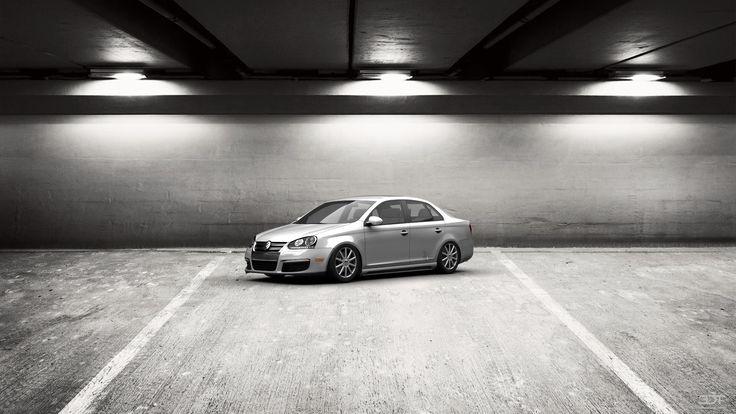 Qué tal les parece mi tuning #Volkswagen #Jetta 2005 en 3DTuning #3dtuning #tuning?