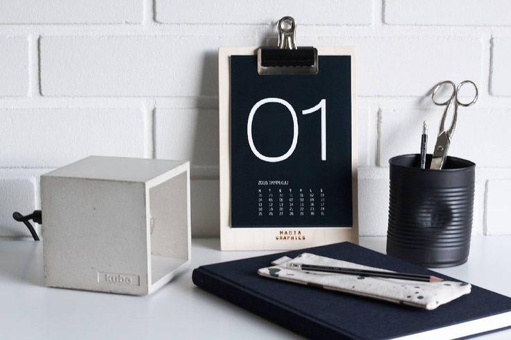 Kalenteri / Calendar 2015  #magiagraphics #kalenteri  #calendar #kalender #2016 #kubefinland