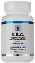 S.B.C.(Saccharomyces Boulardii) 50c by Douglas Laboratories