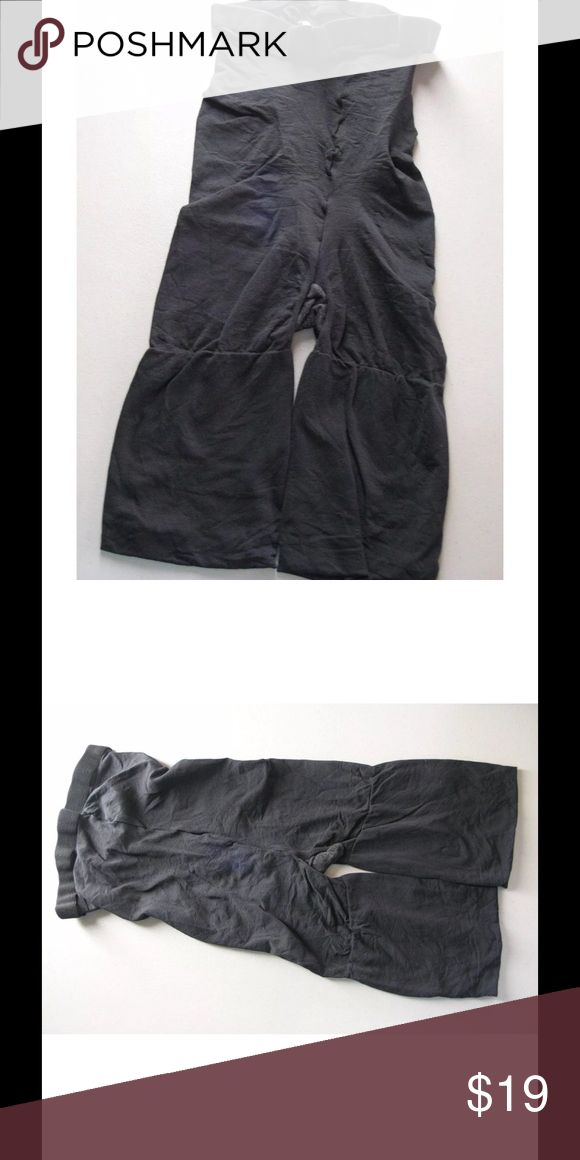 Spanx Shapewear Shaper Shorts Black Mid Thigh Sz B Spanx Shapewear Shaper Shorts High Waist Mid Thigh Star Power Black Size B Elastic waist Soft material Slims/firms and shapes Size B New without tags, Dept store return. Does not appear to have been worn. SPANX Intimates & Sleepwear Shapewear