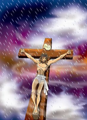 Our Savior on the Cross Good Friday +