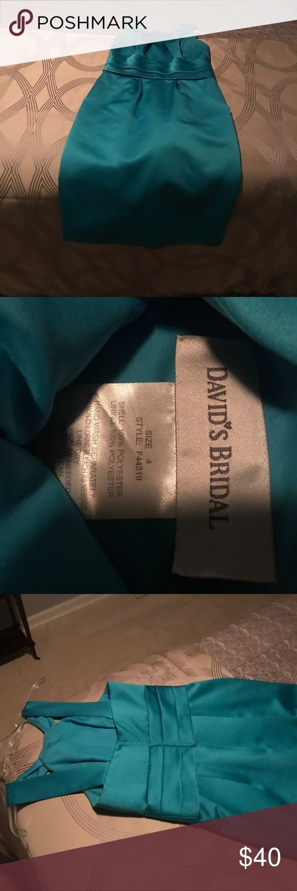 Davids bridal bridesmaid size 4 Size four, like new! davids bridal Dresses Midi