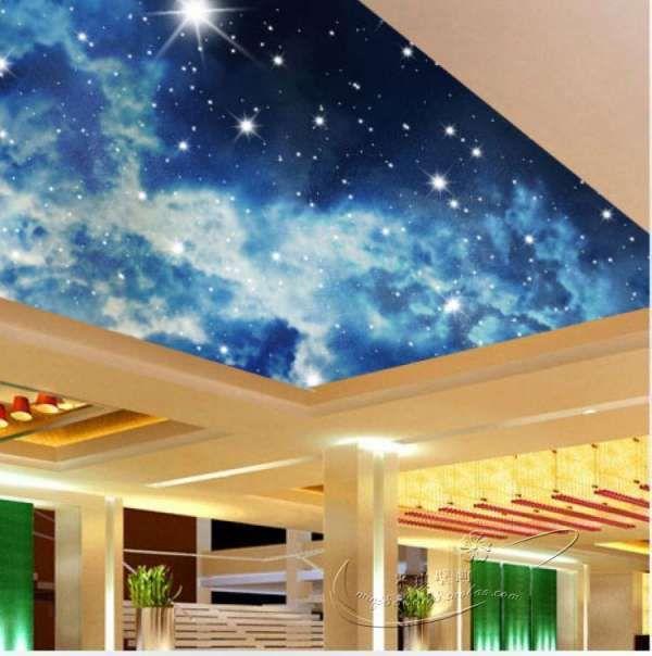 yatak odası yıldızlı tavan