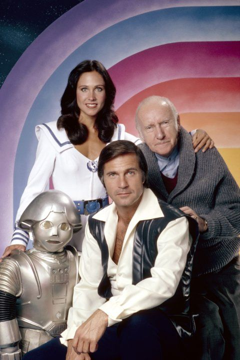 Still of Gil Gerard, Erin Gray, Wilfrid Hyde-White and Felix Silla in Buck Rogers in the 25th Century (1979)