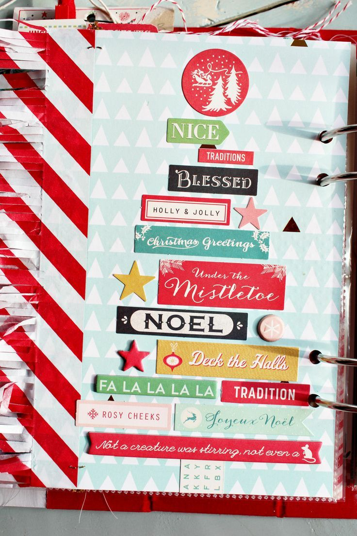 December Daily 2013 pages by sweetpeaink at @Studio_Calico