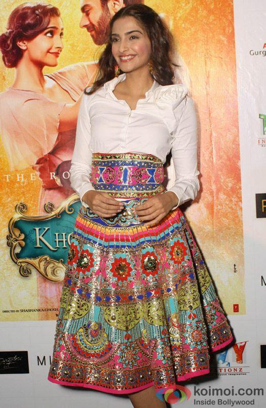 Colouful ethnic skirt