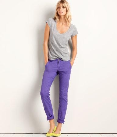 H #purple #jeans