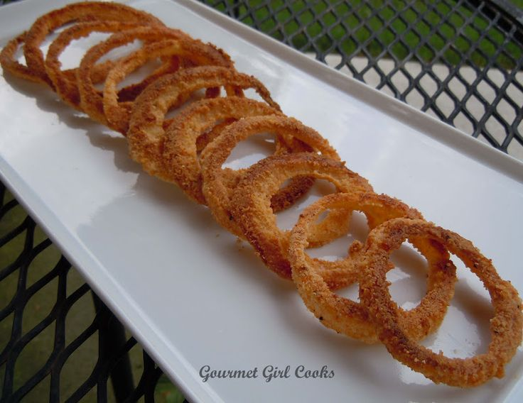 Gourmet Girl Cooks: Oven Fried Onion Rings...