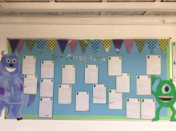 18 best classroom displays images on pinterest classroom dcor monsters inc party invitations for literacy makes a super display ks1 stopboris Choice Image