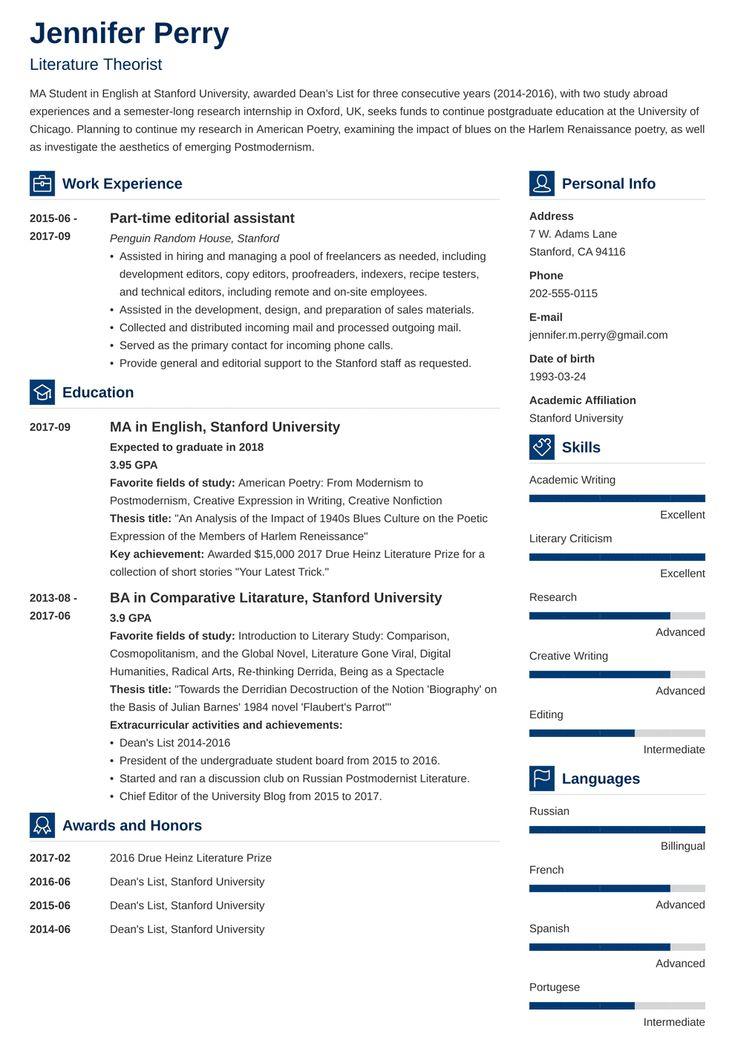 scholarship resume template vibes  resume examples job