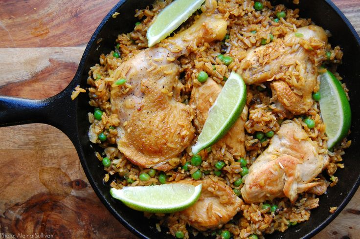 Chicken and Rice (one-pot dish)